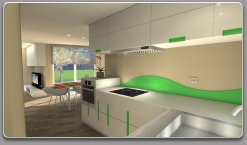 Custom designed kitchens