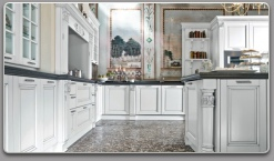 Rich, classical kitchen