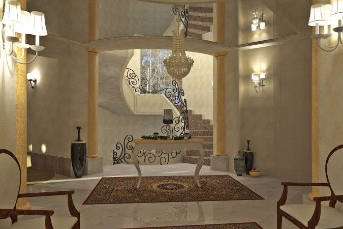 Villa nelle vicinanze di lubiana   lampadari di lusso, i tappeti e le