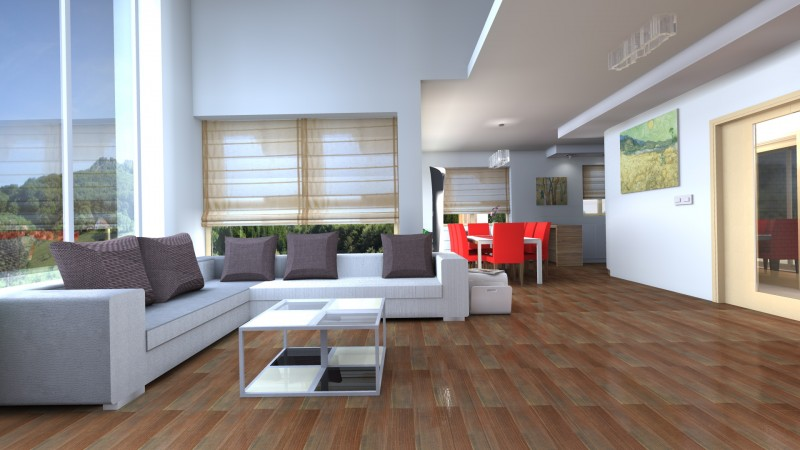 Rendering 3d interni